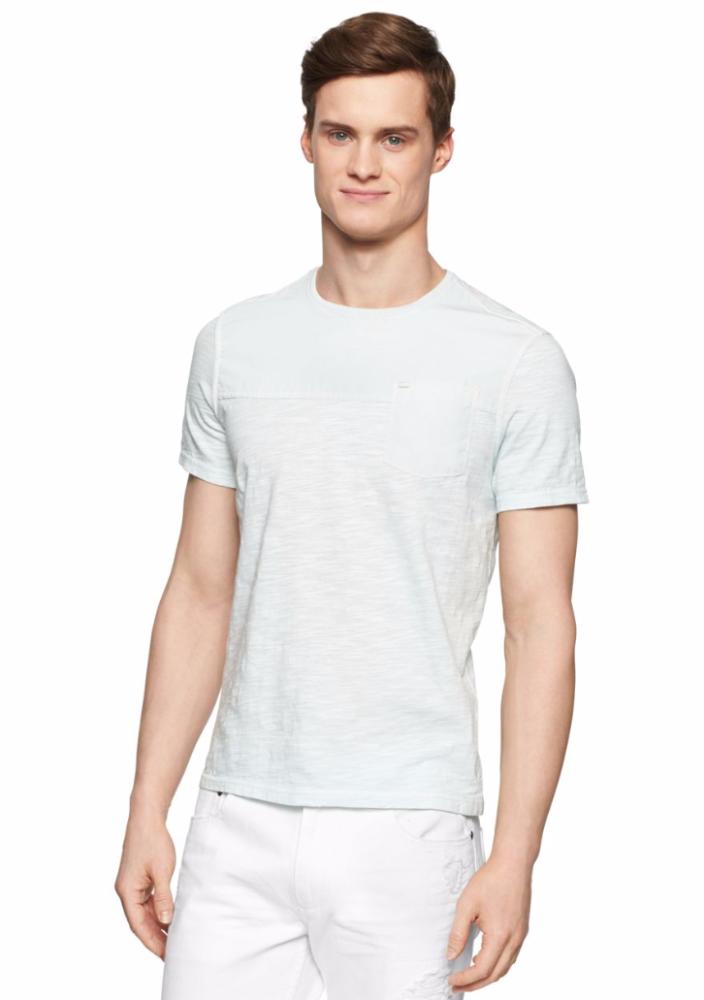 calvin klein jeans mix media men 39 s pocket t shirt 40. Black Bedroom Furniture Sets. Home Design Ideas