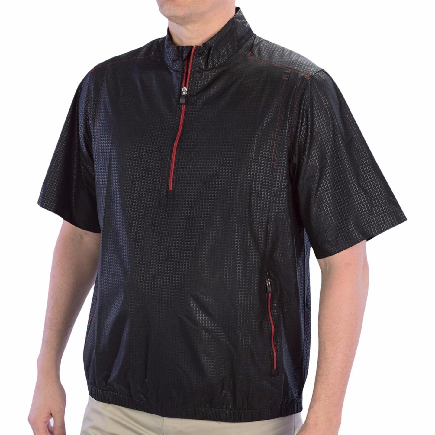 Adidas golf clima proof men 39 s windbreaker shirt 65 nwt for Adidas golf rain shirt