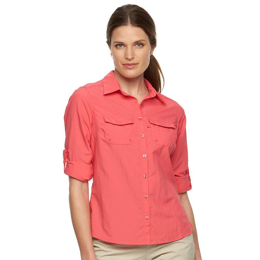 Columbia-Amberley-Stream-Women-039-s-Long-Sleeve-