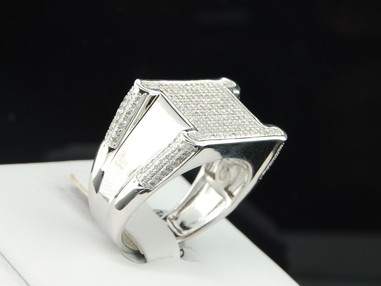 Mens Diamond Rings Mens Pinky Rings In Platinum Gold