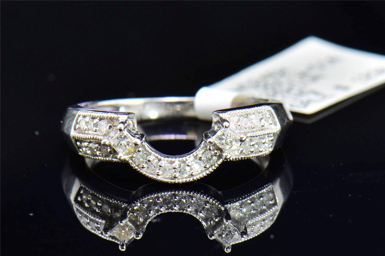 diamond solitaire engagement ring enhancer wrap vintage. Black Bedroom Furniture Sets. Home Design Ideas