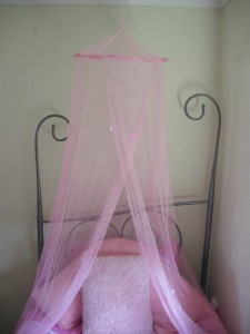 Princess  Canopy Ebay on Pink Butterfly Fairy Princess Bed Canopy Mosquito Net   Ebay