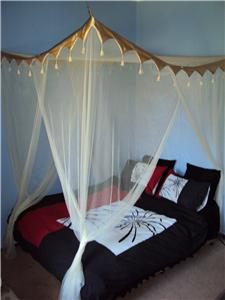 Lotus Canopy Bed - Tansu Asian Furniture Boutique