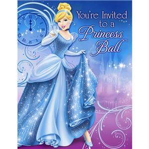cinderella invitation to the ball template - cinderella party invitation kit royal ball 8ct new ebay