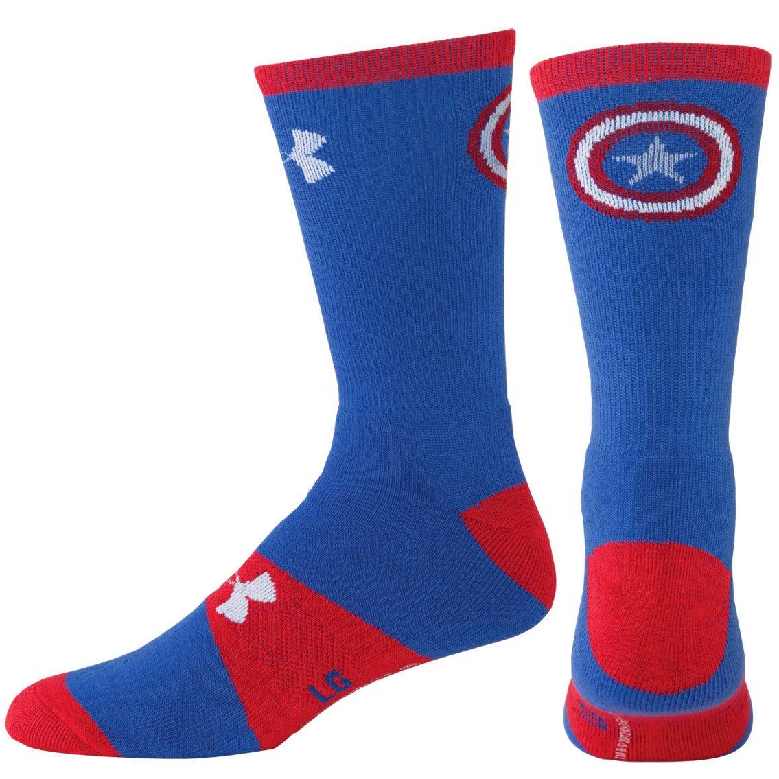 Under-Armour-Alter-Ego-Men-039-s-Socks-Superman-Captain-America-Iron-Man-Spiderman