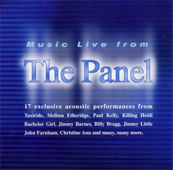 Music-Live-From-THE-PANEL-CD-Paul-Kelly-Jimmy-Barnes-Billy-Bragg-Mary-Seymour