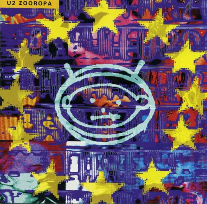U2-Zooropa-CD-Australian-Pressing-Excellent-Condition
