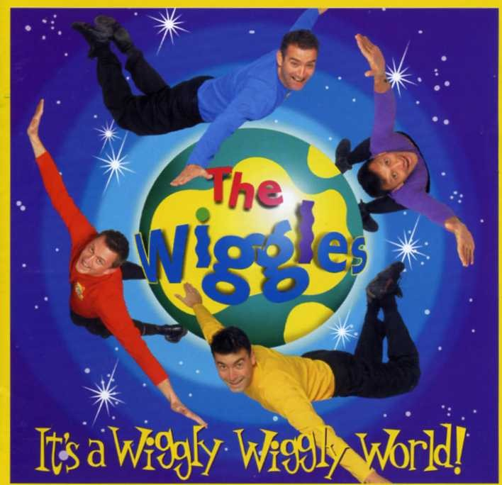 KIDS THE WIGGLES It s A Wiggly Wiggly World CD - Excellent ConditionThe Wiggles Wiggly Wiggly World Vhs