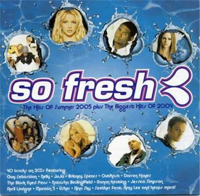 SO-FRESH-Hits-Of-Summer-2005-Biggest-Hts-2004-2CD-Nelly-Nickelback-Spiderbait