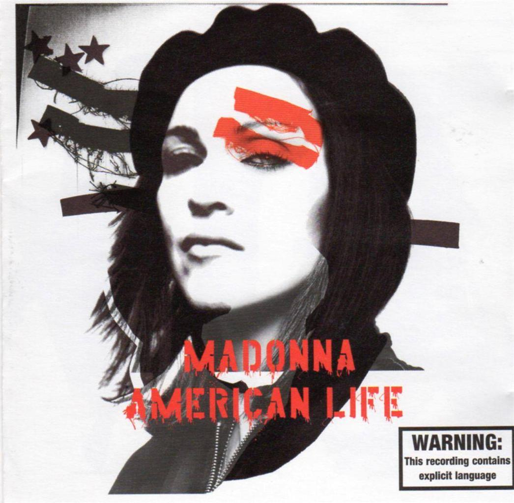 MADONNA-American-Life-CD-Limited-Edition-Bonus-Poster-Excellent-Condition