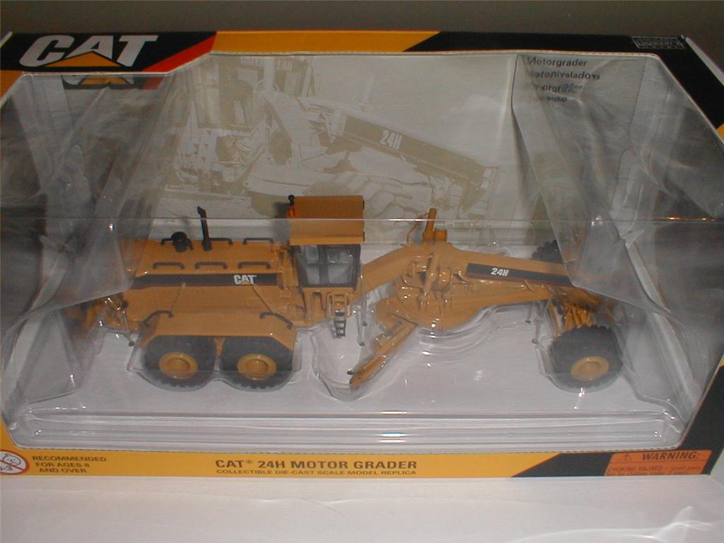 Norscot caterpillar 24h motor grader 55133 1 50 nib for Cat 24h motor grader