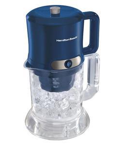 Automatic Iced Coffee Maker : New Hamilton Beach 2 Qt. Electric Ice Coffee Maker 40913 Dark Blue 40094409136 eBay