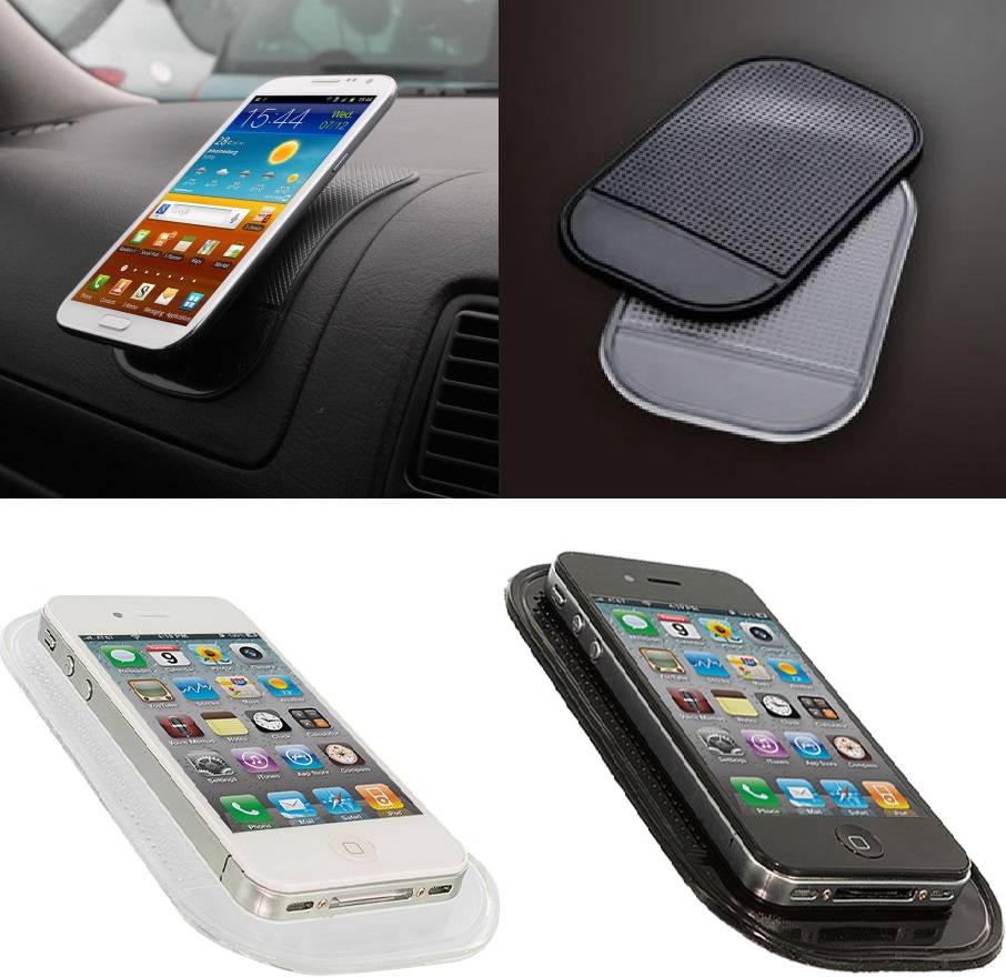 Non-Slip-Car-Mount-Dashboard-Sticky-Pad-Mat-Holder-Grip-For-LG-A250-n-more