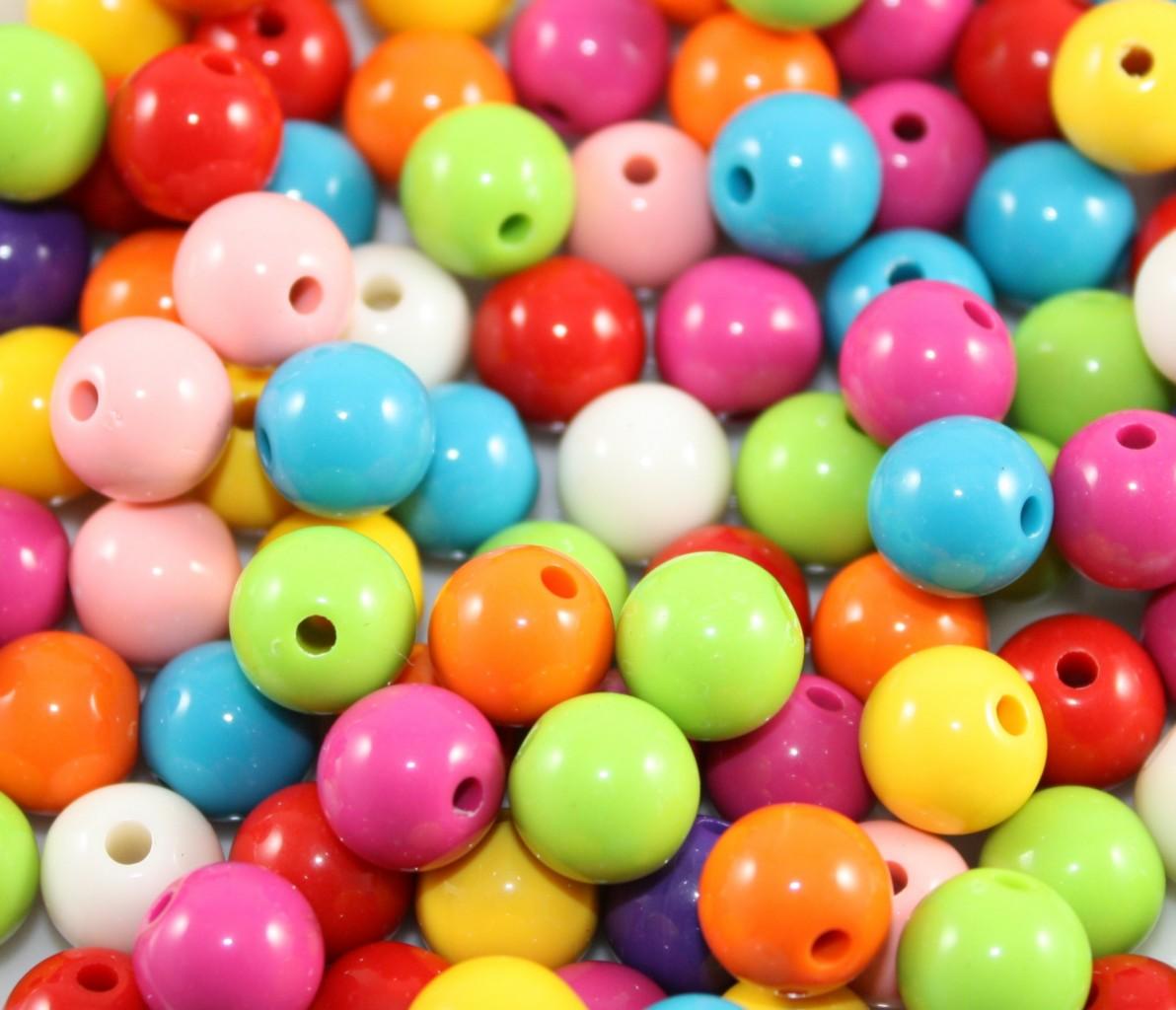 300x6mm-200x8mm-100x10mm-50x12mm-Acrylic-Round-Beads-Mixed
