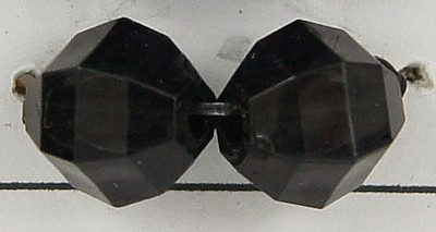 25pcs-24mm-x-11mm-Clear-Acrylic-Faceted-TEAR-DROP-Bead-or-Black-or-Mixed