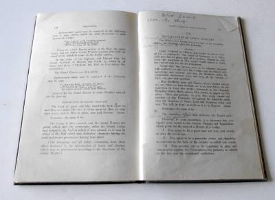 Masonic manuscripts