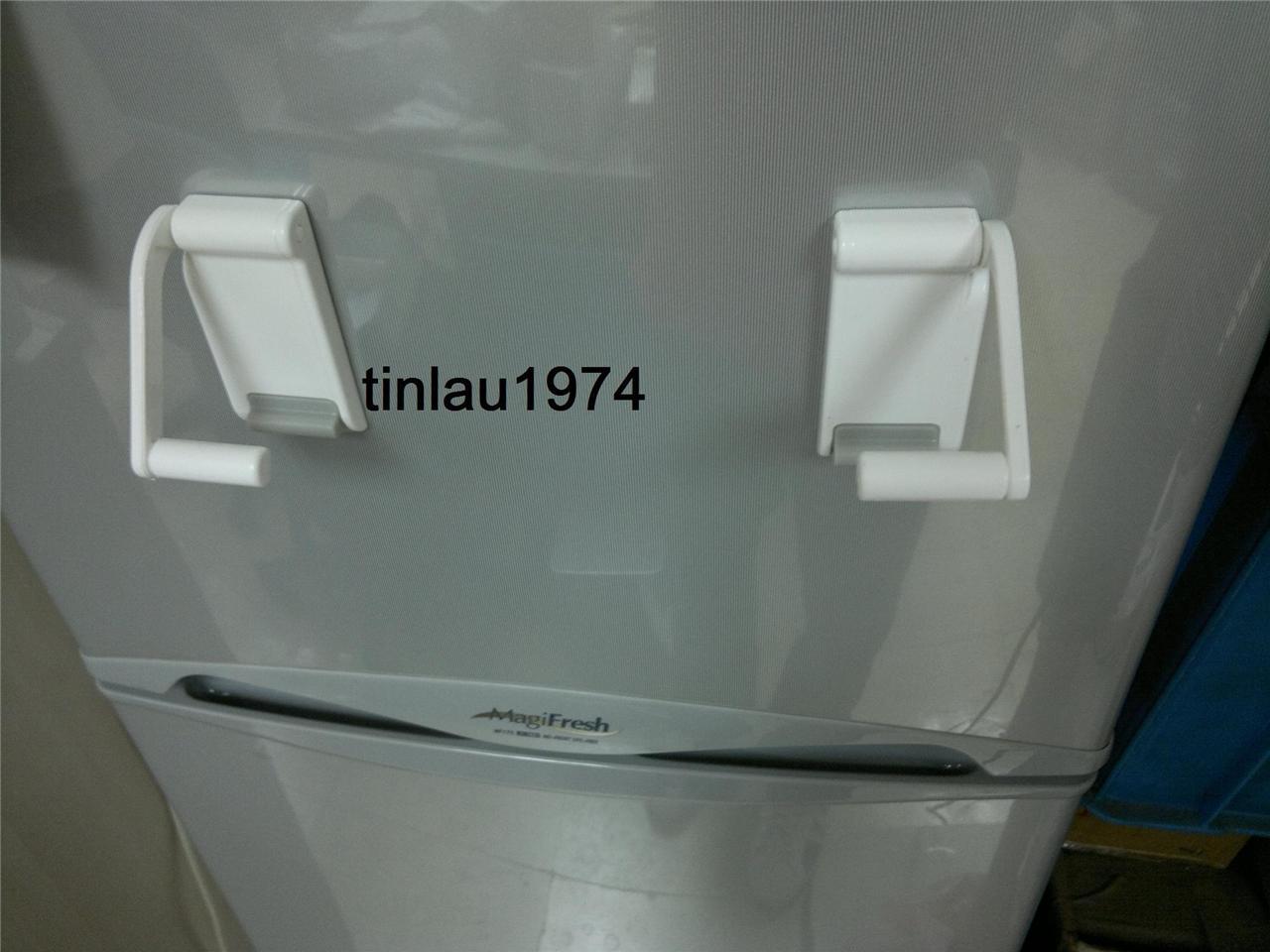 1pc x magnetic paper towel holder kitchen paper towel rack for refrigerator new ebay. Black Bedroom Furniture Sets. Home Design Ideas