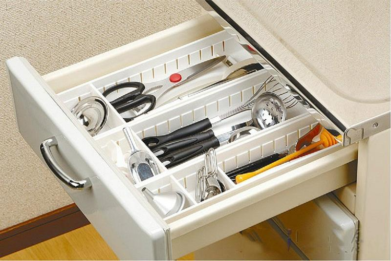 3pcs x japan inomata kitchen cabinet drawer cutlery