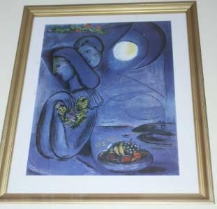 Mac Chagall/Charles Sorlier, Saint Jean Cap Ferrat 1952 ... Chagall Ferrat