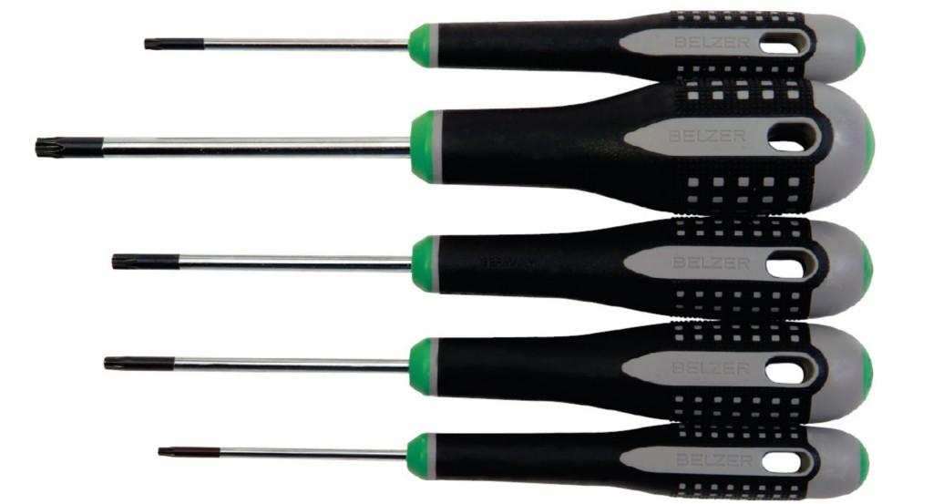 new bahco tools 5 pc ergo torx screwdriver set be 9885 ebay. Black Bedroom Furniture Sets. Home Design Ideas