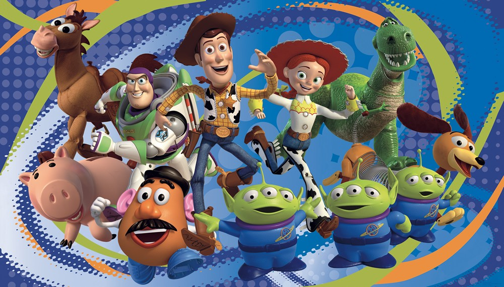 toy story 3 woody buzz prepasted wall mural wallpaper