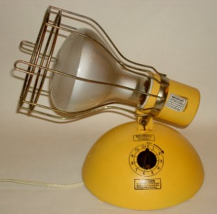 vintage ge deluxe time a tan portable sun lamp w bulb sun. Black Bedroom Furniture Sets. Home Design Ideas