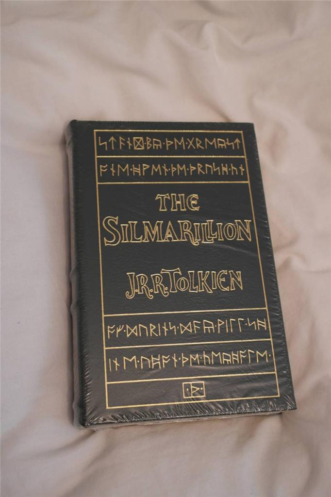 TOLKIEN-The-Silmarillion-EASTON-PRESS-deluxe-leather-HB-book