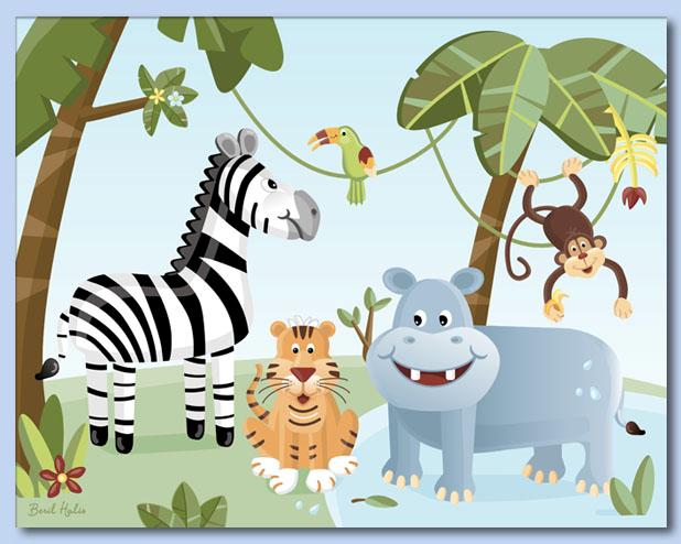 jungle animal pictures for kids. Jungle - Safari Animals.