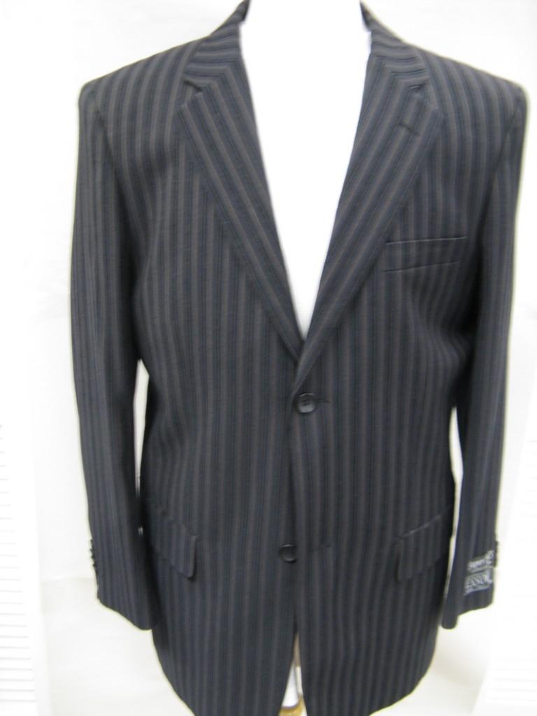 Aquascutum Pinstripe Blazer - Mens Outerwear - AQS20076