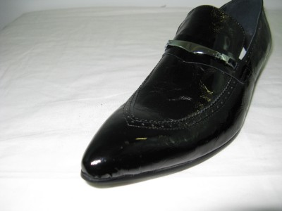Encore By Fiesso Black Genuine Leather Shoes FI3019 - $119.99