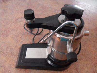 Electric Coffee Maker Invented : VINTAGE ELECTRIC ESPRESSO MACHINE 3-6-9 CUP WITH FROTHER MADE IN ITALY eBay