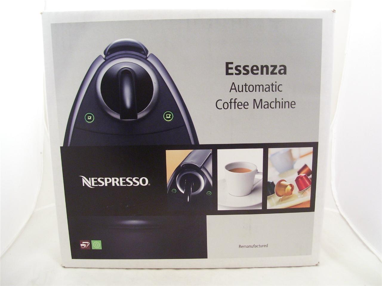 Nespresso Essenza C100 Automatic Espresso Coffee Maker New