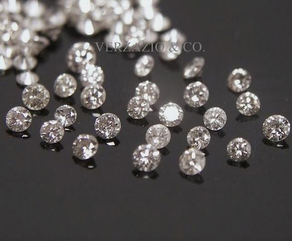 Silver Diamond Grey Loose Natural Diamonds Lot Parcel