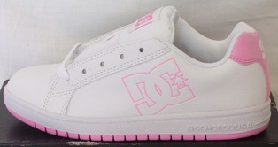 NEW-DC-SKATE-SHOES-CHILDREN-KIDS-TEEN-GIRLS-US-Sz-4-5-6