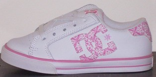 NEW-DC-SKATE-SHOES-CHILDREN-KID-TEEN-GIRL-US-Sz-3-4-5-6
