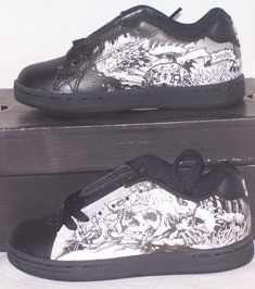 NEW-DC-SKATE-SHOES-CHILDS-KIDS-TOTS-BOYS-11-12-13-BLACK
