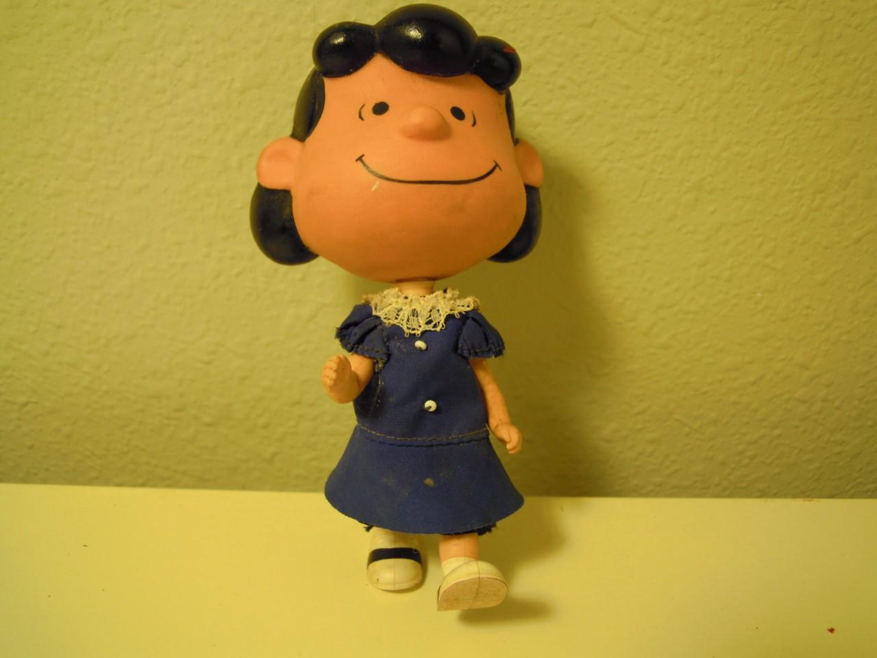 Vintage Mattel  Liddle Kiddle Peanuts Lucy Skediddle Doll 1967