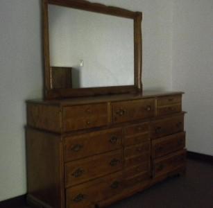 Vintage Meredith 6 Pc Maple Bedroom Furniture Set Dresser Mirror 2 Chests More Ebay