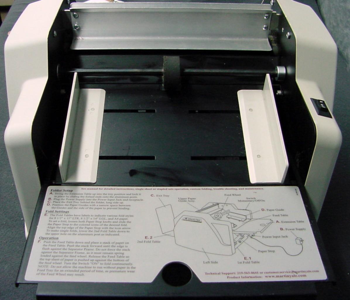 Martin Yale Auto Paper Folder 1501x