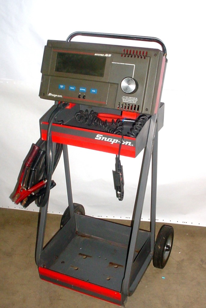 Electrical Load Tester : Snap on mt heavy duty avr battery load tester