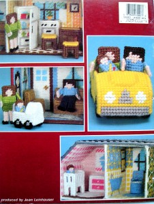 Miracle hands: Free craft book: My pink dollhouse in plastic canvas
