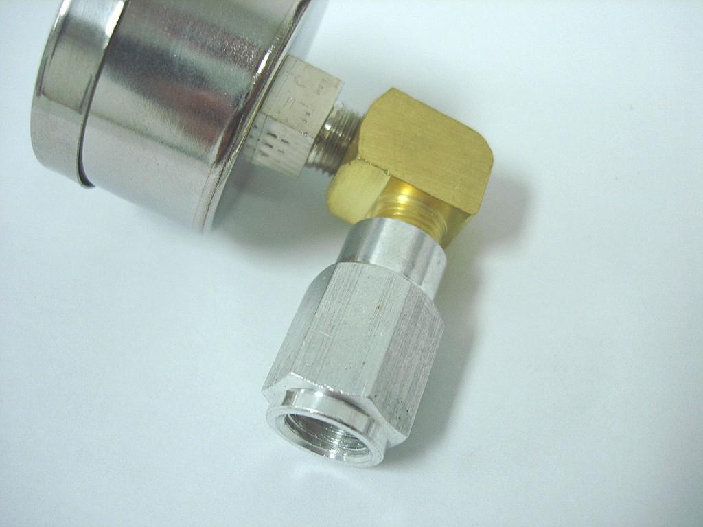Schrader valve fitting
