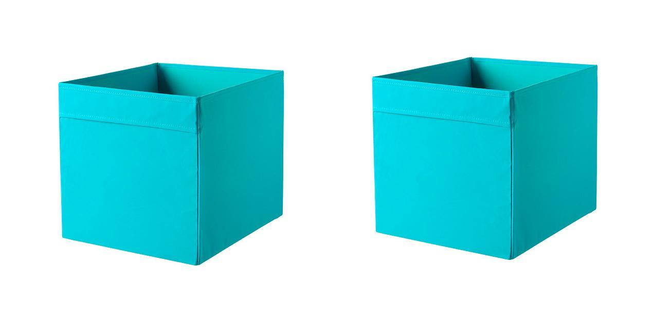 1 2 or 4x ikea dr 214 na storage box organiser expedit unit file 6 colours
