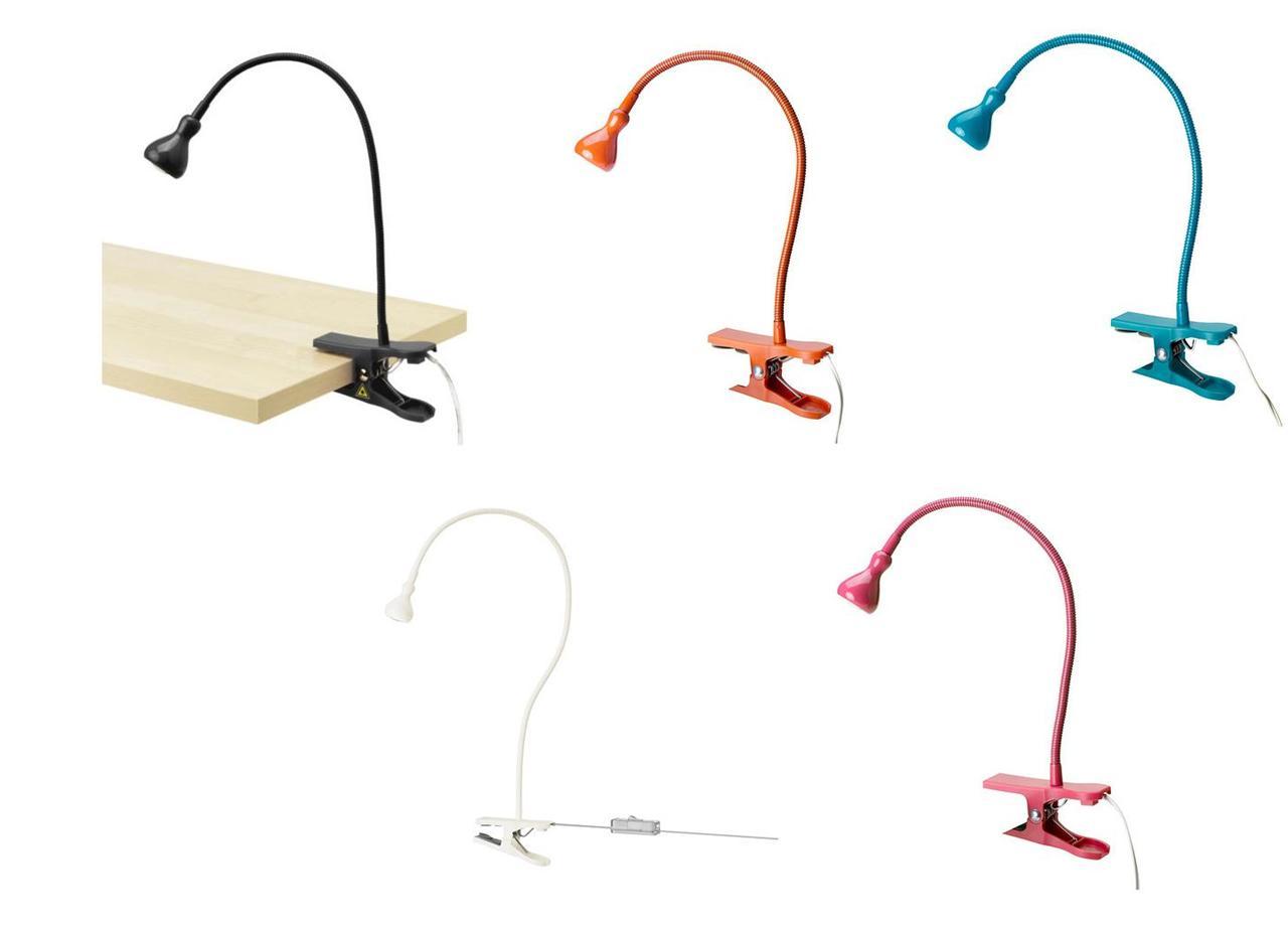 Led Clamp Spotlight Work Lamp Desk Light Clip On Ikea
