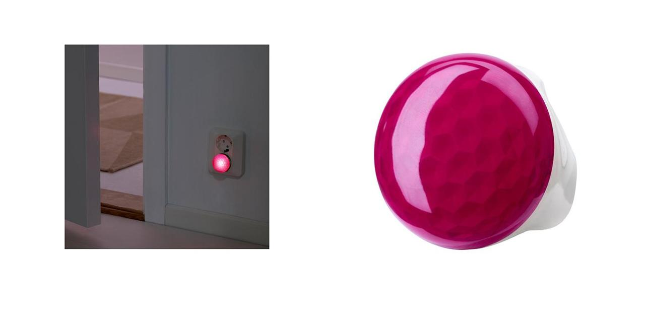 Ikea Gulliver Toddler Bed Hack ~ Details about Ikea Patrull NIGHTLIGHT WITH SENSOR, Orange, White, Pink