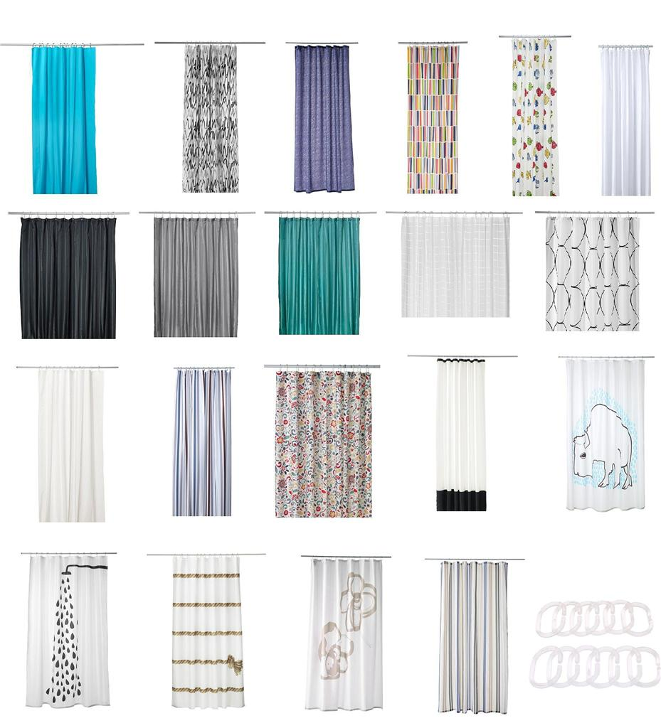 Dark Teal Sheer Curtains IKEA Fabrics