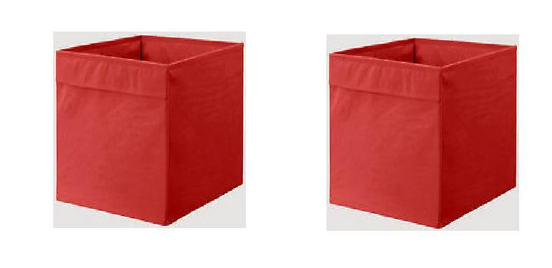 1-2-or-4X-Ikea-DRONA-STORAGE-BOX-ORGANISER-EXPEDIT-UNIT-FILE-Red-Orange-Blue