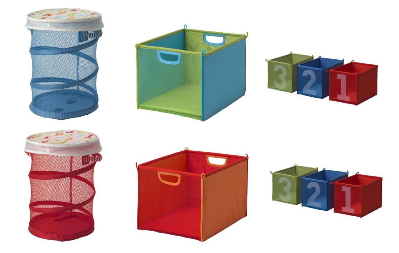 Ikea Kids Children 39 S Kusiner Storage Baskets Boxes