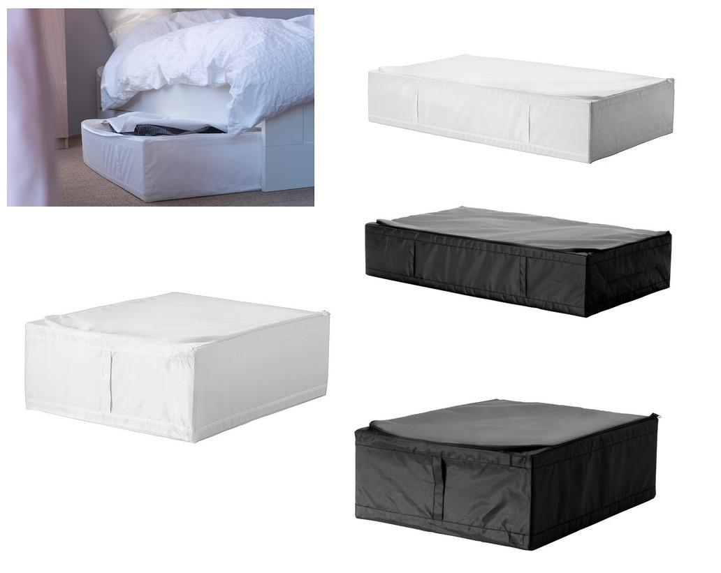 ikea skubb under bed storage box or storage box case organiser new ebay. Black Bedroom Furniture Sets. Home Design Ideas