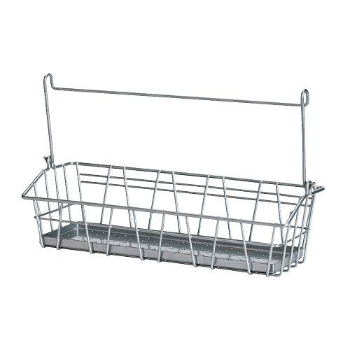 Ikea bygel series kitchen wall storage container wire for Panier de bar ikea bygel